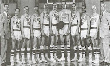 1953 Minneapolis Lakers  from left – Head Coach John Kundla 436d954fb