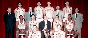 a colored photo of the 1955 NBA Champion Syracuse Nationals  Front Row –  Dick Farley a28f4d2e3