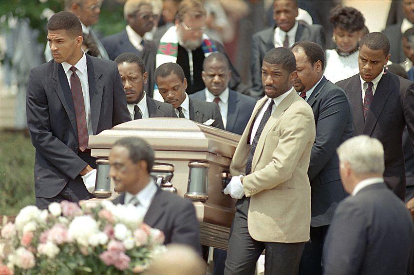 Michael jordan father funeral