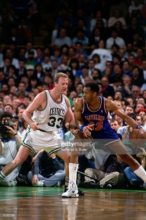 cad65dcd66d Larry Bird's return would not re-vitalize the Celtics as Larry Nance and  co. proved to be too much of a matchup problem for Bird, in the final  moments of ...